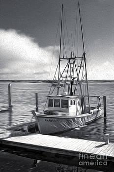 Gregory Dyer - Morro Bay Fishing Boat in Duo-tone