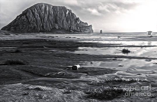 Gregory Dyer - Morro Bay - Morro Rock - desaturated