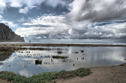 Morro Rock - After the Storm by Aprille Lipton