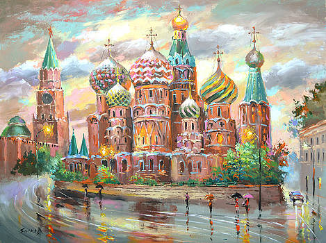 Moscow by Dmitry Spiros