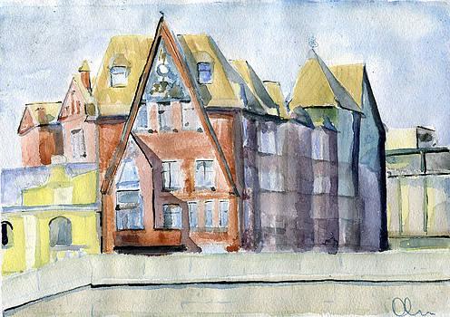 Moscow.Pertsov's House by Lelia Sorokina