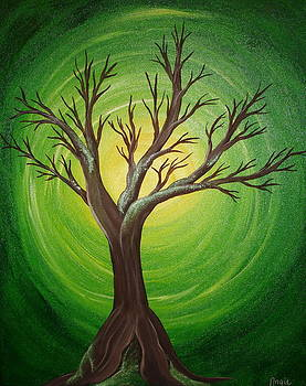 Mossy Tree by Angie Butler