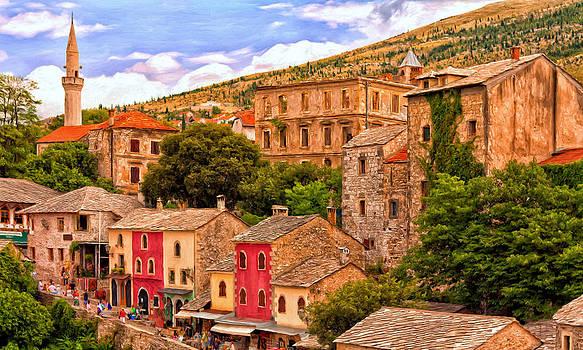 Mostar by Michael Pickett