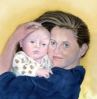 Mother and Child by Norman Klein