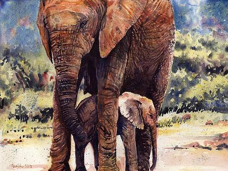 Mother and Child by Sarah Kovin Snyder