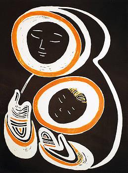 Mother and Child by Vadim Vaskovsky