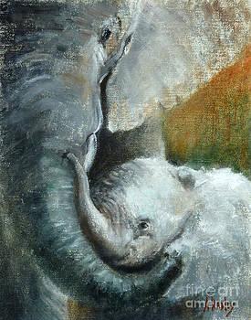 Mother Baby Love by Ann Radley