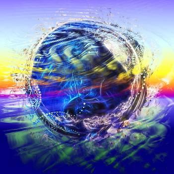 Cindy Nunn - Mother Earth A Swirl 1