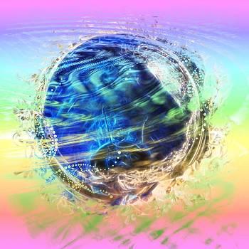 Cindy Nunn - Mother Earth A Swirl 2