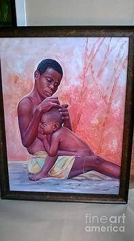 Mother N Child by David Aruna