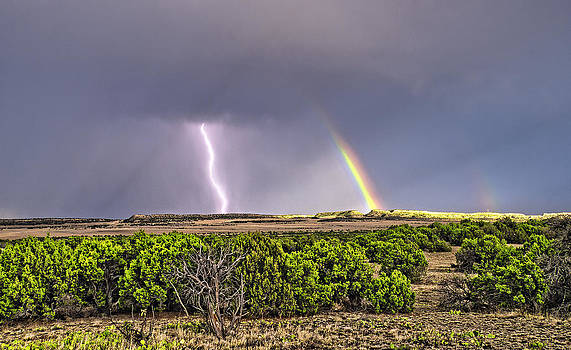 Mother Nature's Light Show by Kevin Pate