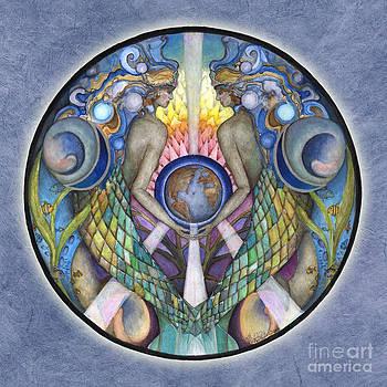 Mother Ocean Mandala by Jo Thomas Blaine