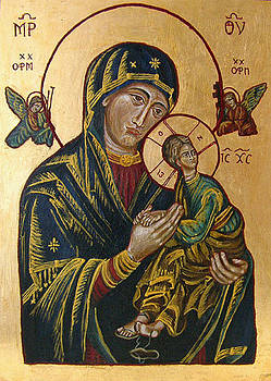 Mother of God of Perpetual Help by Karolina Wicha