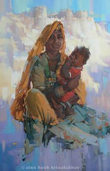 Mother of Jaisalmer by Alex Hook Krioutchkov