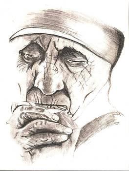 Mother Teresa by Bindu N