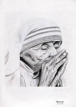 Mother Teresa by Prashanth Bala Ramachandra