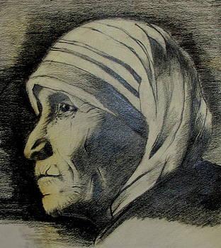 Mother Terreza by Raahi Raza