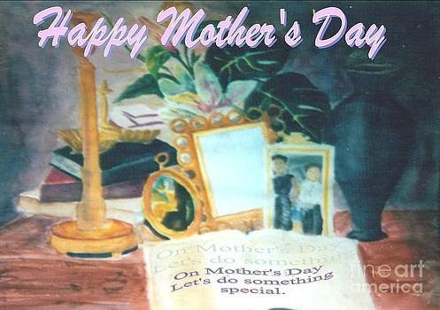 Mother's Day Poster by Aldonia Bailey