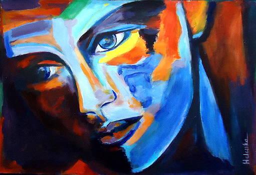 Motionless stare by Helena Wierzbicki