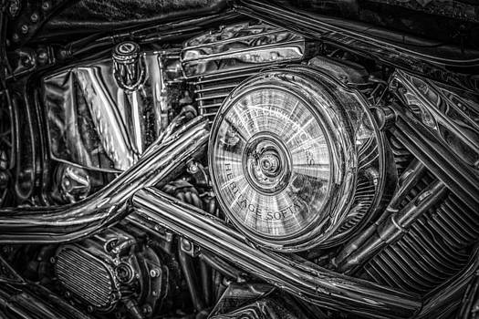 Motor bike detail by Dobromir Dobrinov