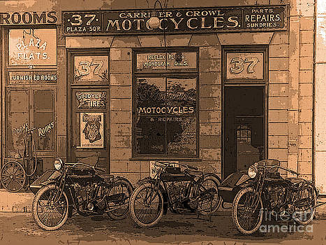 Motorcycles and Furnished Rooms by Maureen Tillman