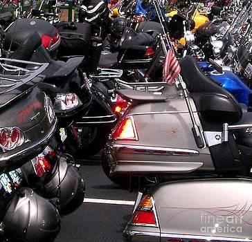 Gail Matthews - Motorcycles Cheek to Cheek