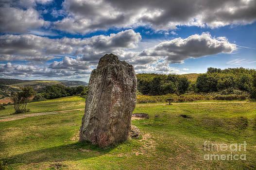 English Landscapes - Mottistone The Longstone