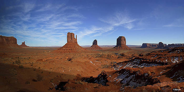 Mounment Valley Arizona by Gregory Johnson