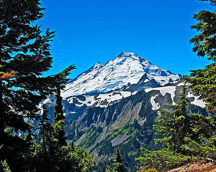 Mount Baker Washinton by Randall Templeton