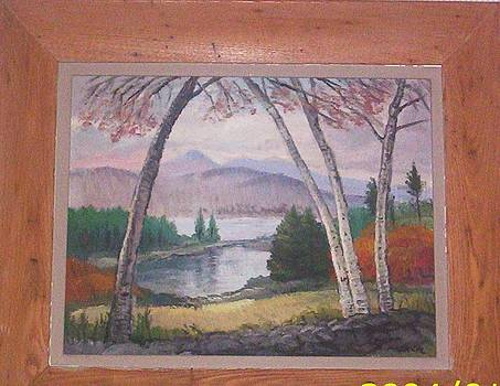 Mount Chocorua New Hampshire by Richard Gordon Packer