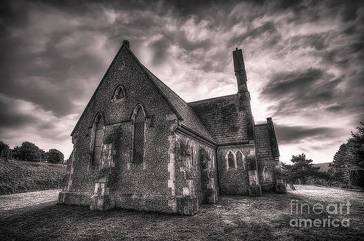English Landscapes - Mount Joy Chapel bw