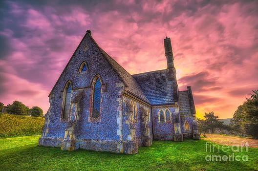 English Landscapes - Mount Joy Chapel Sunset