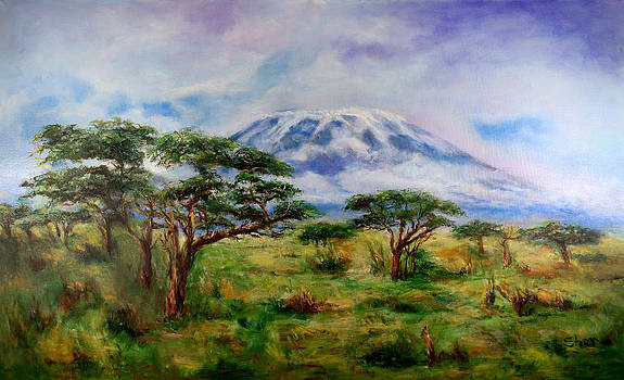 Mount Kilimanjaro Tanzania by Sher Nasser