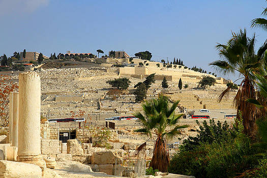 Mount Of Olives by Philip Neelamegam