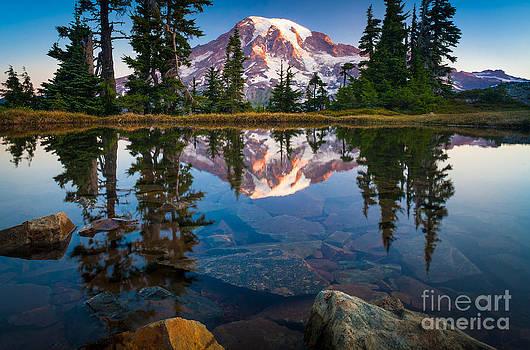 Inge Johnsson - Mount Rainier Tarn