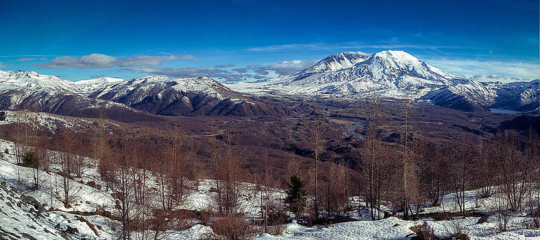 Mount Saint Helens by Anthony J Wright