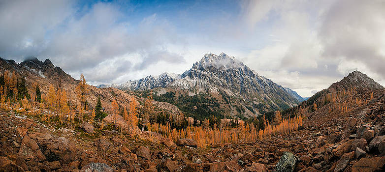 Mount Stuart Panorama by Brian Bonham