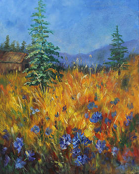Mountain Blues by Elaine Bailey