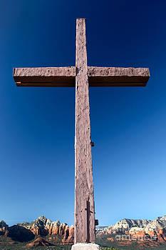 Mountain Cross by Karen Lee Ensley