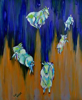 Mountain Goats by Lee Walker