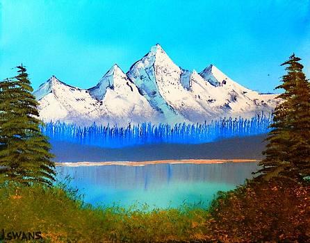 Mountain Lake by Jared Swanson