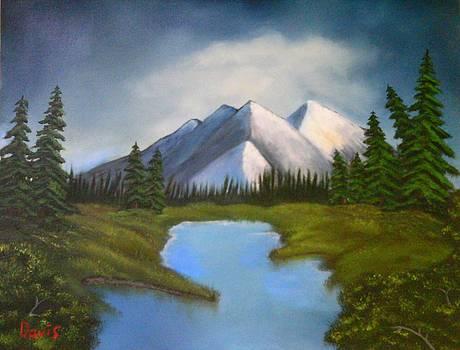Mountain Lake by John Davis