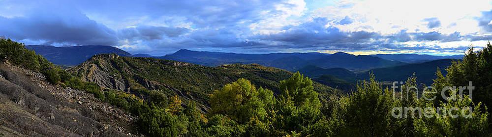 Mountain  Landscape by Stefano Piccini