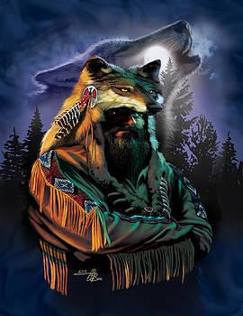 Mountain Man Spirit by  Orlando Baca