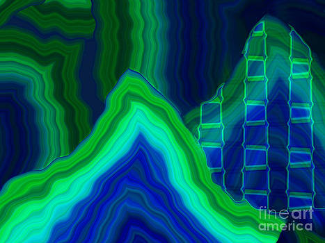 Mountain Range by Tom Hubbard