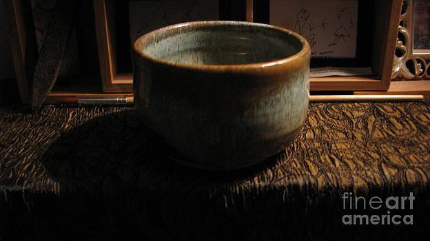 Mountain Scene Bowl by Laura Chorba