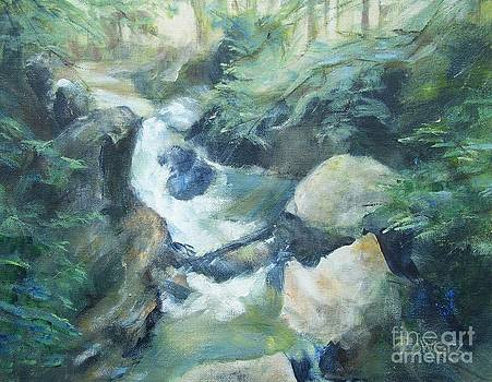 Mountain Stream by Mary Lynne Powers