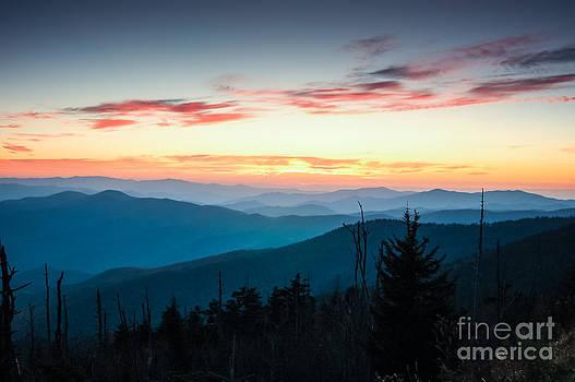 Mountain Sunset  by Patrick Shupert