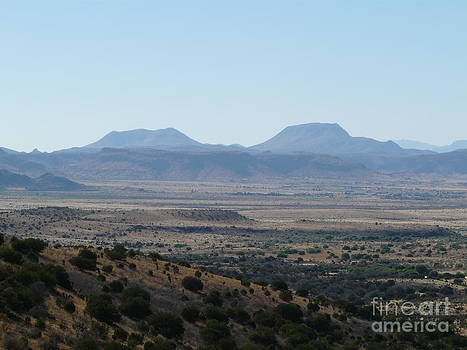 Mountains of the Big Bend by Avis  Noelle