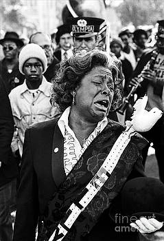 Mourner at a Jazz Funeral by Christopher R Harris